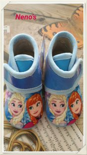 Zapatillas Disney Frozen celeste