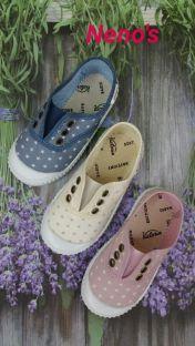 Zapatillas Victoria elastico estrellas