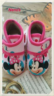 Zapatillas disney minnie rosa