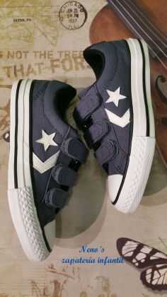 Converse star player velcros marino