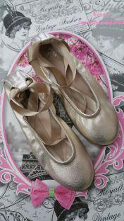 Bailarina Landos metalcris dore