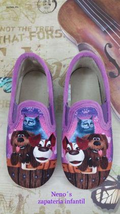 Zapatillas Vulca-bicha mascotas