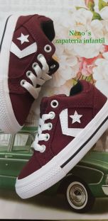 Converse star player burdeos