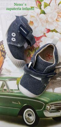 Zapato Biomecanics lavable jeans