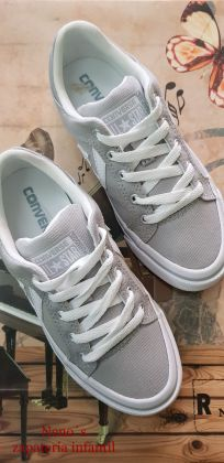 Converse star player gris medias