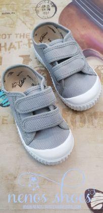Zapatillas lona Victoria velcros