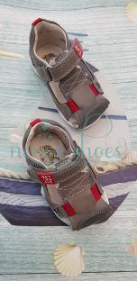 Zapato sandalia Garvalin gris
