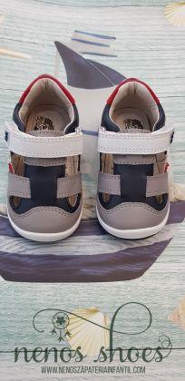 Zapato sandalia Garvalin marino