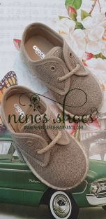 Zapatillas Chuches lino natural