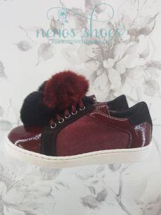 Sneakers Landos pompones
