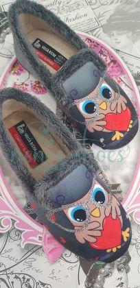 Zapatillas casa Vulca-bicha buho
