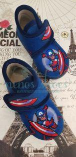 Zapatillas casa Vulca-Bicha capitán America