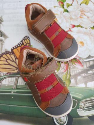 Zapato Garvalin elásticos burdeos