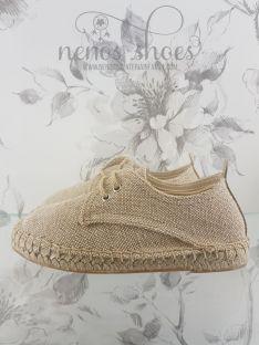 Zapatillas Esdori lino
