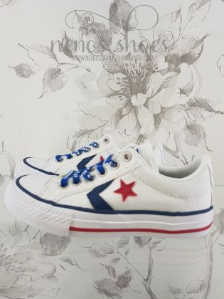 Converse star player blanco