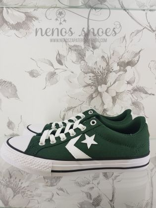 Converse star player verde