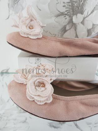 Bailarinas Papanatas rosa