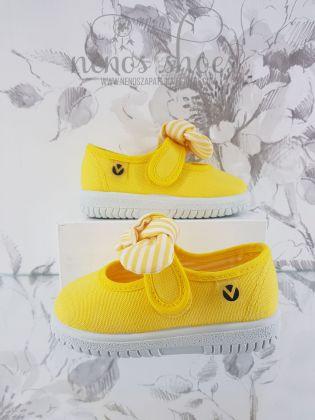 zapatillas Victoria lazo