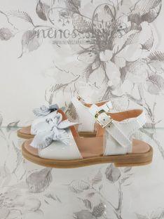 Sandalias Clarys flor