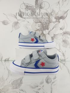 Converse star player velcro gris