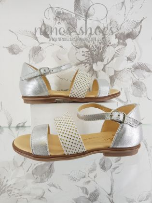 Sandalias Ruths Secret plata