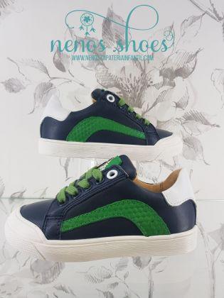 Sneakers Acebos cordones verde