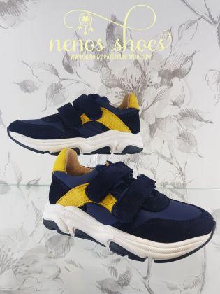 Sneakers Acebos velcros