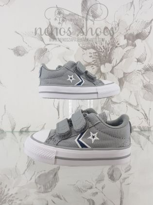 Converse star player gris