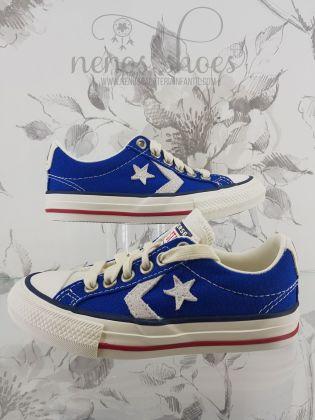 Converse Star player azulón