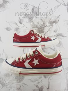 Converse star player rojo
