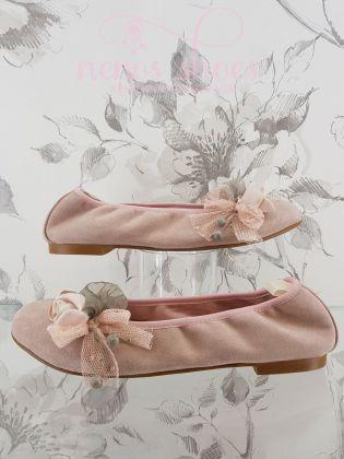 Bailarinas Zoysan flor lateral