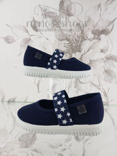 Zapatillas Victoria elástico estrellas